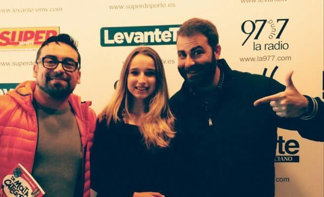 Bluemusic Valencia visita 97.7 con Anne Sophie
