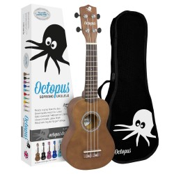 OCTOPUS UK 200BR Marrón UKELELE SOPRANO