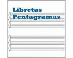 Libretas pentagramas