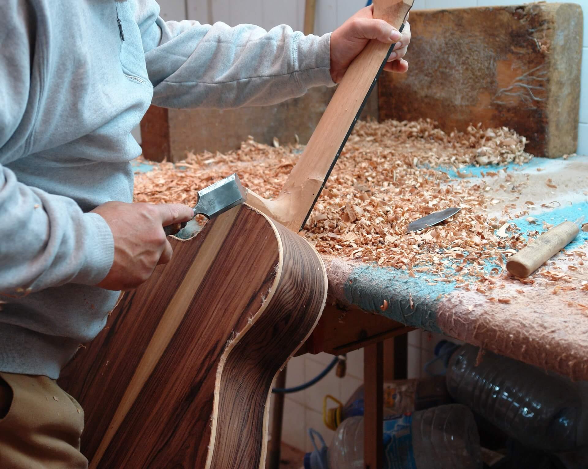 Trabajos de Luthier clásica